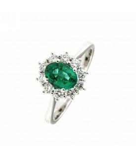 Anello diamanti 0,40 e...