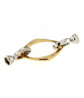 Chiusura per collana in oro...