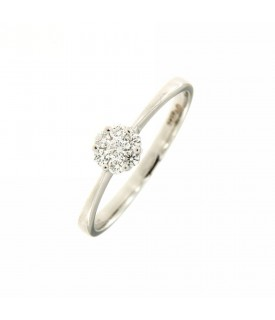 Solitario di Diamanti 0,16 ct