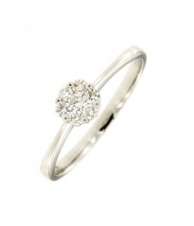Solitario di Diamanti 0,18 ct
