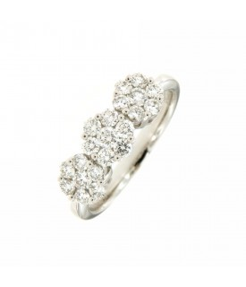 Trilogy di Diamanti 0,77ct