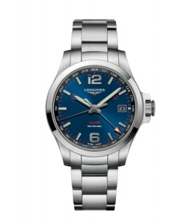 Conquest VHP GMT 41mm blu