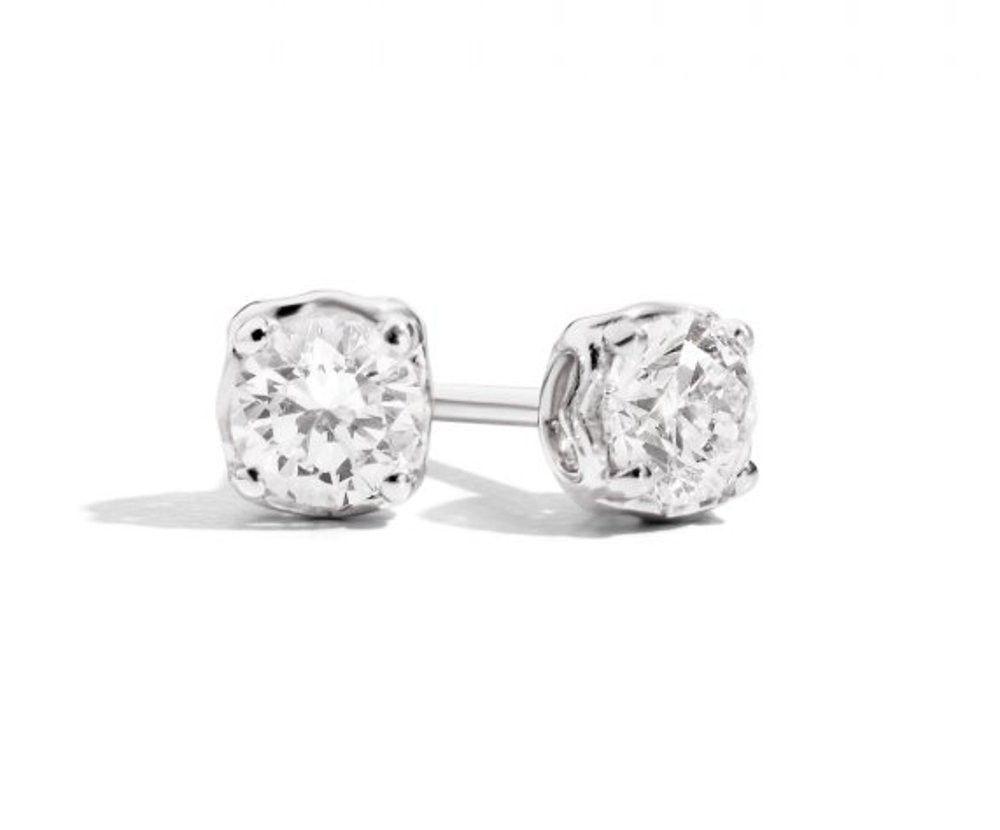 Orecchini con diamante 0,35ct Anniversary