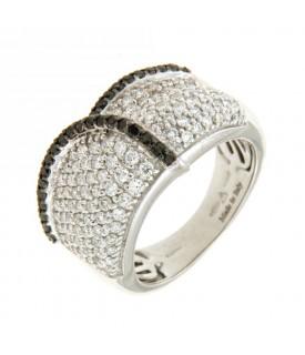 Anello Diamanti 1,14 e 0,26 ct
