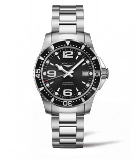 Hydroconquest auto 39mm nero