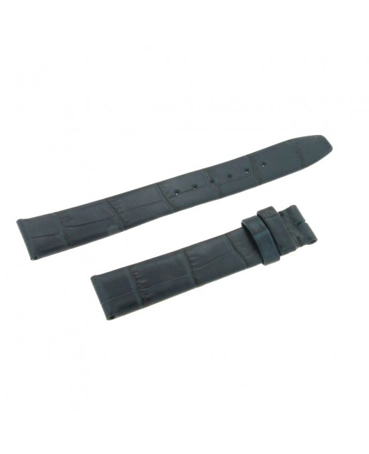 Cinturino blu 15mm stampa alligatore