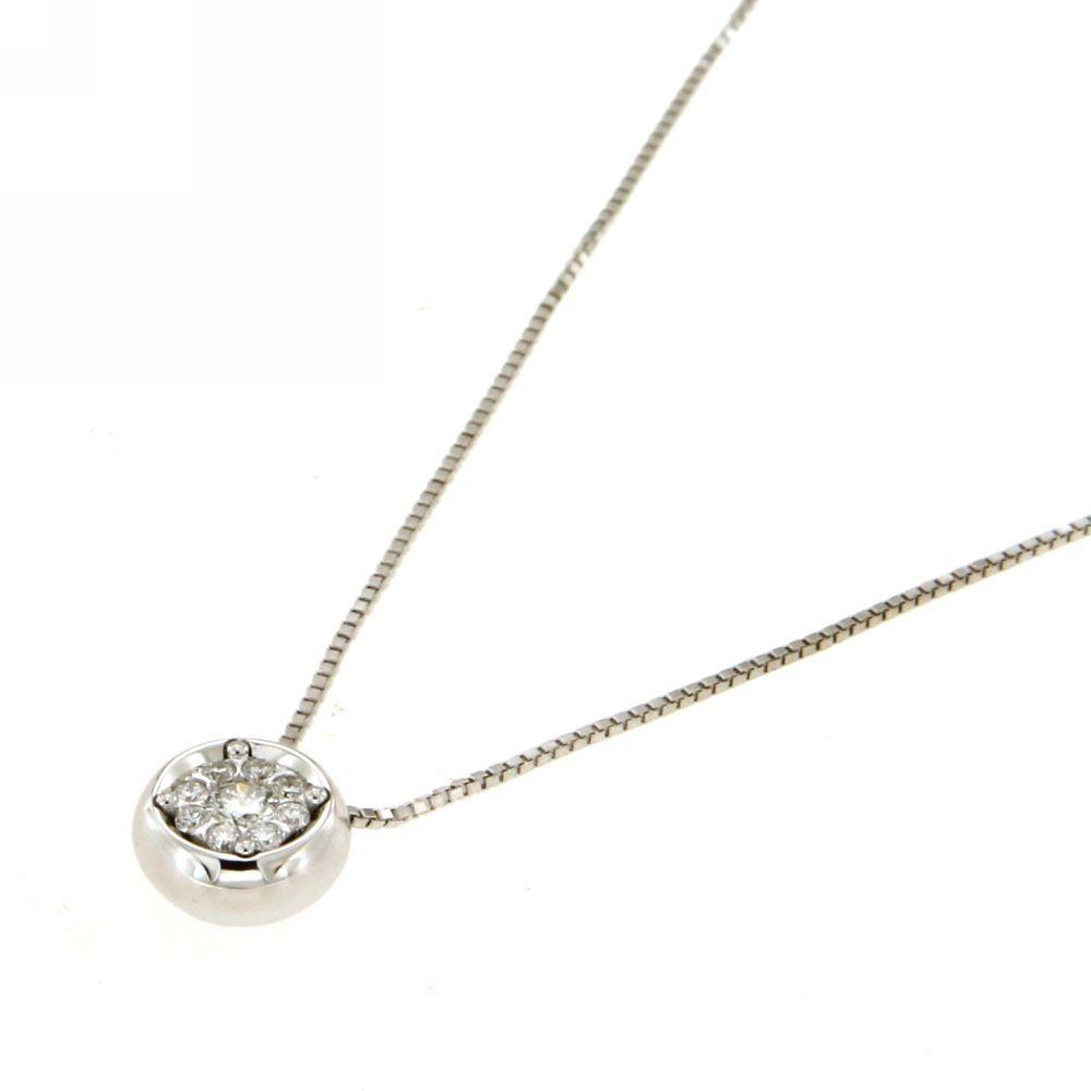 Collana Daphne con Diamanti 0,12 ct