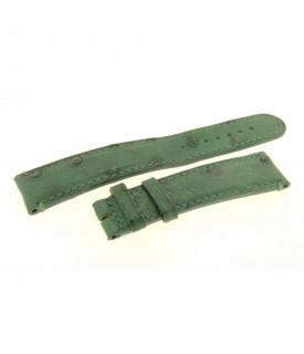 Cinturino verde Struzzo...