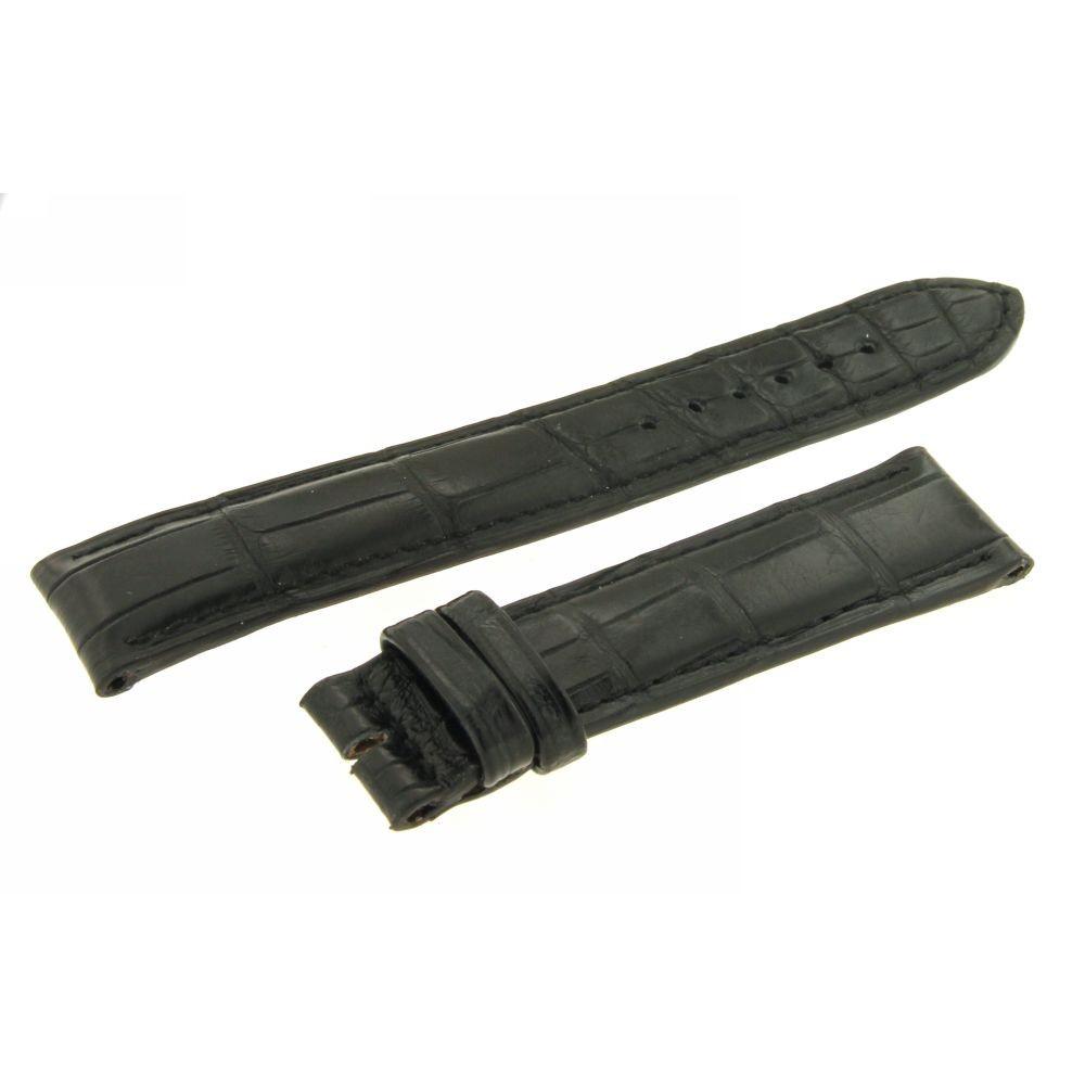 Cinturino Nero opaco Cocco 19 mm
