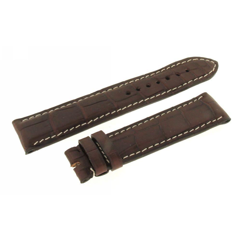 Cinturino marrone Cocco Chrono4 20mm