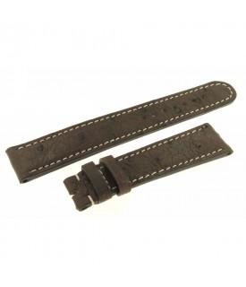 Cinturino marrone Struzzo...