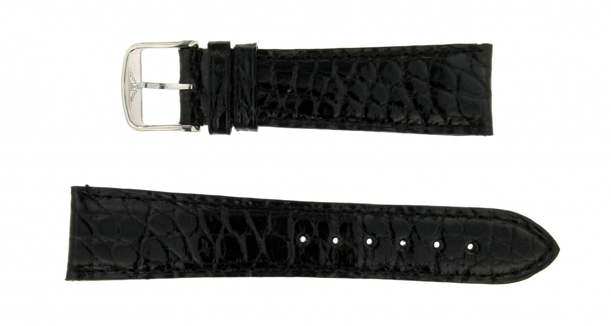Cinturino Cocco nero 22mm