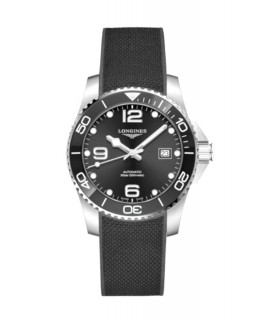 Hydroconquest auto 41mm nero