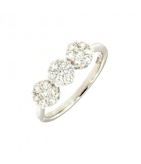 Trilogy di Diamanti 0,56ct