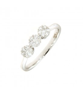 Trilogy di Diamanti 0,30ct