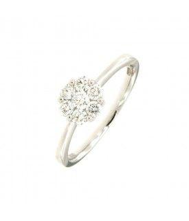 Solitario di Diamanti 0,38 ct