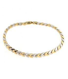 Bracciale a catena in oro...