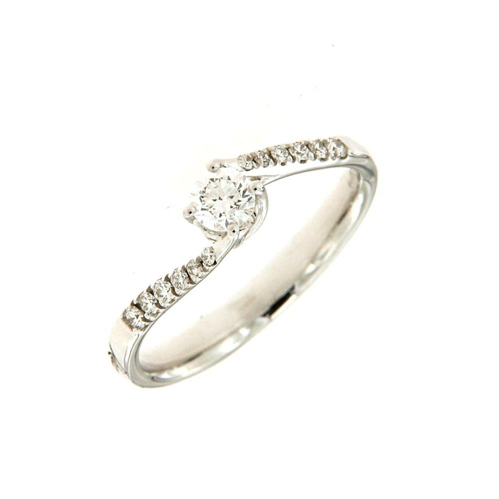 Anello Solitario Valentin Diamante 0,35 ct