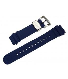 Cinturino Caucciù Blu...