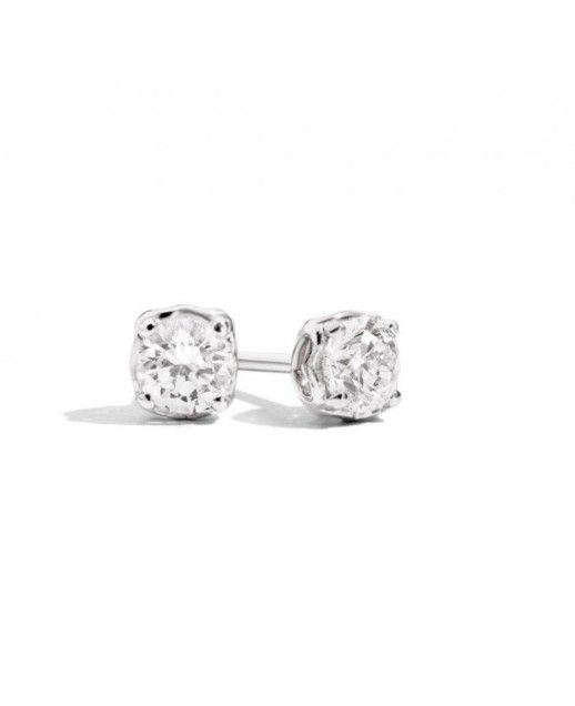 Orecchini con diamante 0,60ct Anniversary