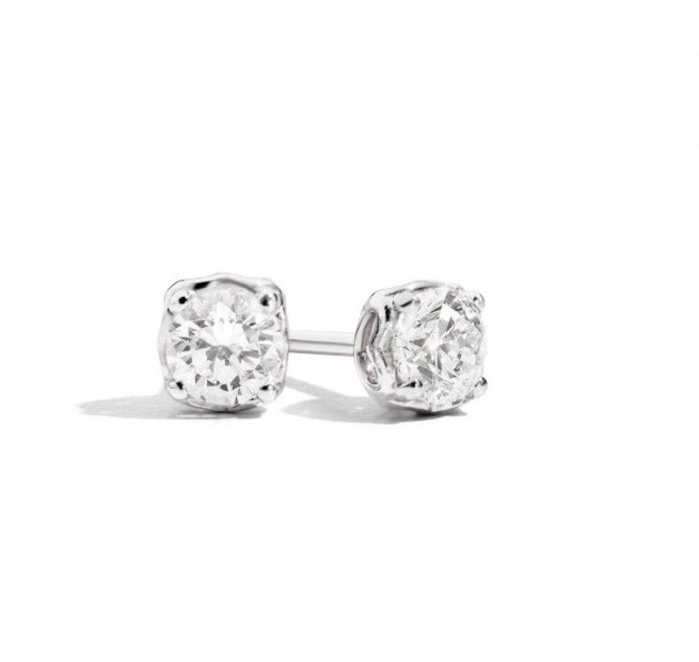Orecchini Anniversary con diamante 0,60ct
