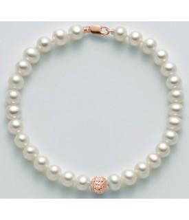 Bracciale perle 5,5/6 mm