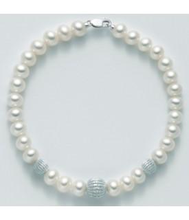 Bracciale perle 5/5,5 mm