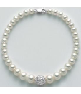 Bracciale perle 4/8 mm