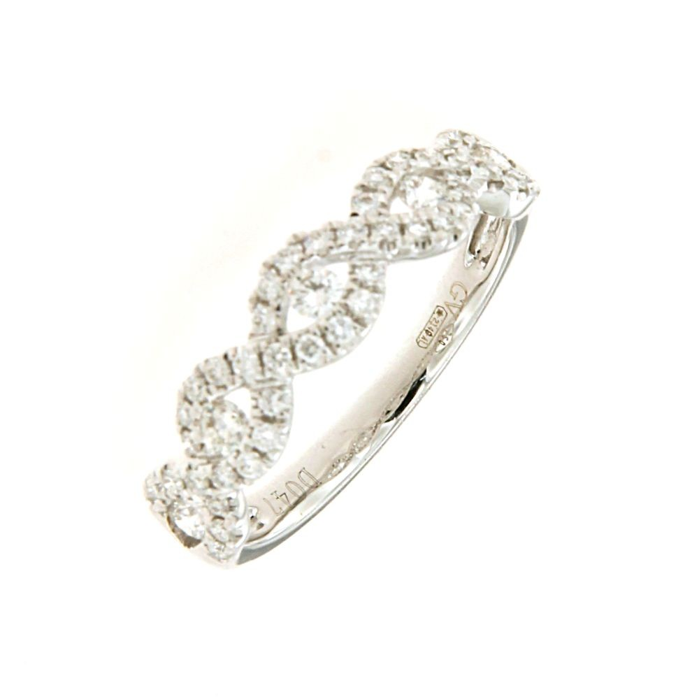 Anello con Diamanti 0,47 ct