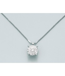 Collana con diamanti 0,01 ct
