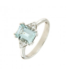 Anello Diamanti 0,09ct e...