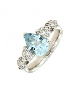 Anello Diamanti 0,27ct e...