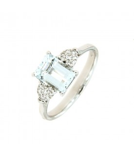 Anello Diamanti 0,11ct e...