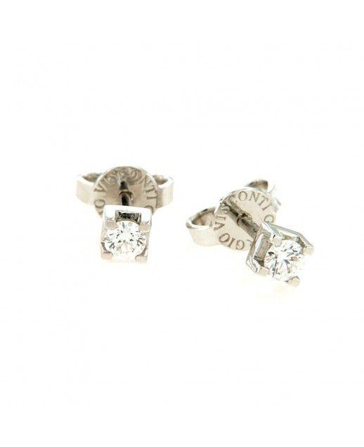 Orecchini in Oro con Diamanti 0,20 ct