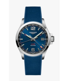 Conquest VHP GMT 43mm blu