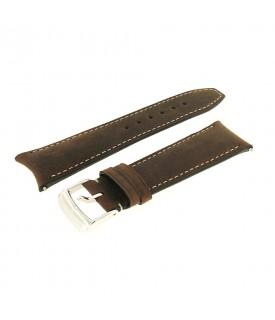 Cinturino Vitello marrone 21mm