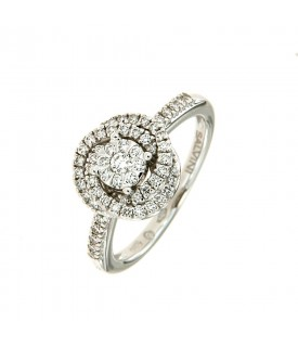 Anello Daphne con Diamanti...