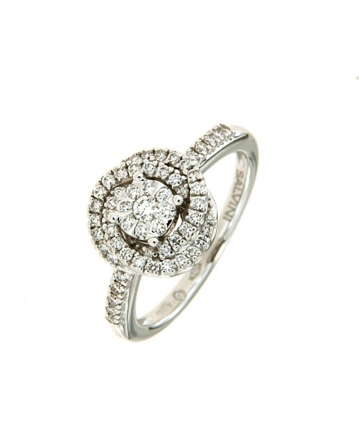 Anello Daphne con Diamanti 0,41 ct