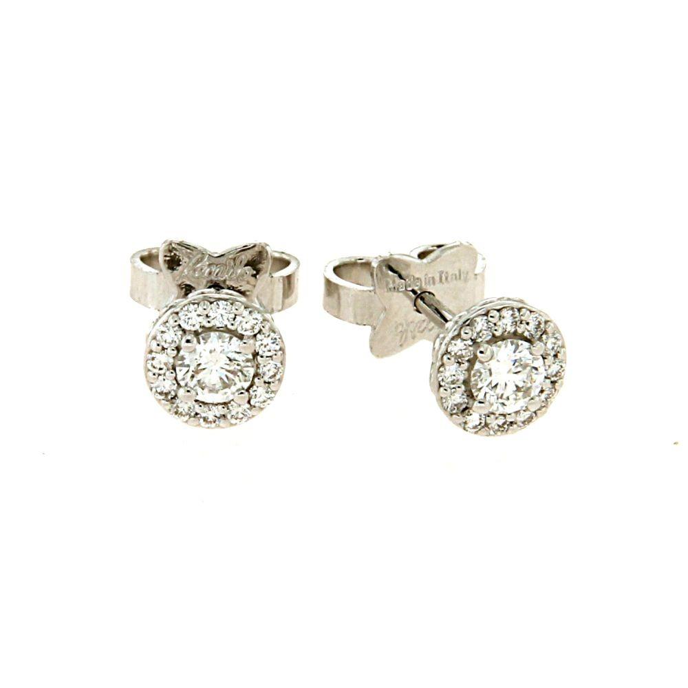 Orecchini Anniversary con diamanti 0,46ct