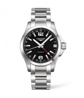 Conquest uomo auto 41mm GMT