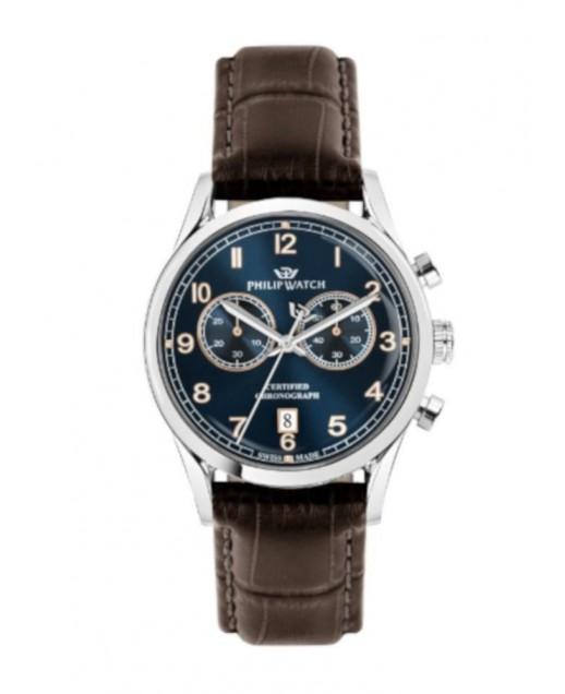 Sunray 39mm Cronograph Blue