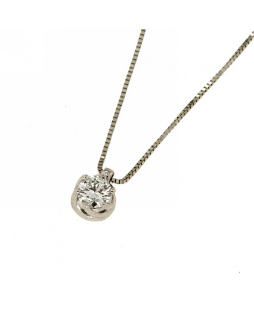 Collana Lavinia con Diamanti 0,20 ct