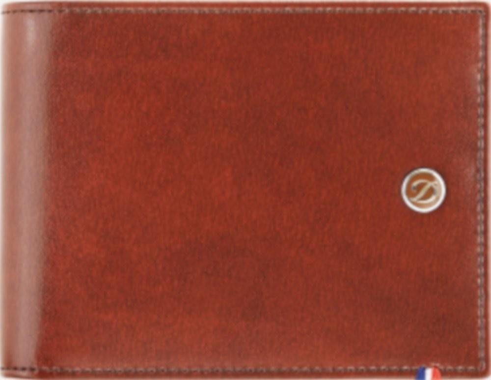 D-Line portafoglio marrone 6 carte di credito