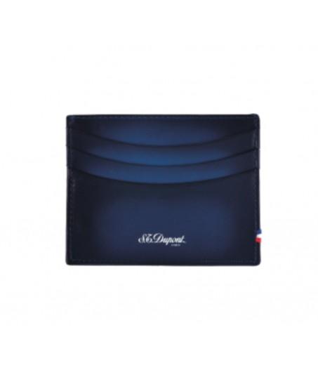 D-Line portafoglio blu 6 carte di credito