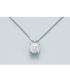 Collana con diamanti 0,03 ct