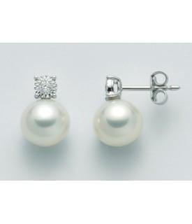 Orecchini perle 8,5/9 e...