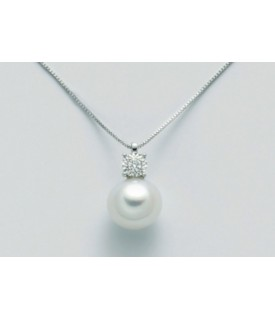 Collana perla 8,5/9 e...