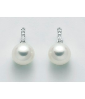 Orecchini perle 7,5/8 e...