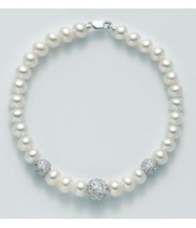 Bracciale perle Portafortuna