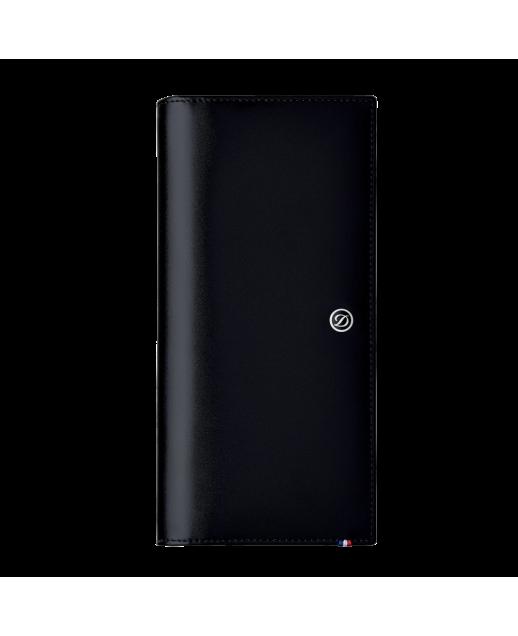 D-Line portafoglio lungo nero 13 carte di credito